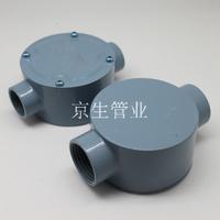 86型鋁合金防爆司令箱 電纜分線盒 防水圓筒接線盒 直二通接頭盒