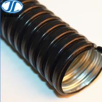 TPU低煙無鹵阻燃包塑金屬軟管 防水PU包塑金屬電線電纜金屬保護軟管