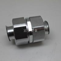 包塑金屬軟管直接頭 鍍鋅金屬軟管直接 軟管接軟管接頭 包塑軟管對接